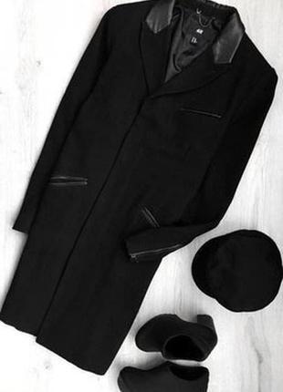 Новое пальто h&m шерсть