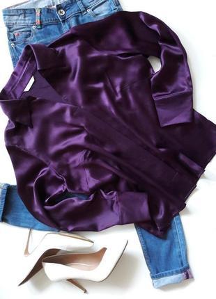 Шикарная блуза...100%шёлк.