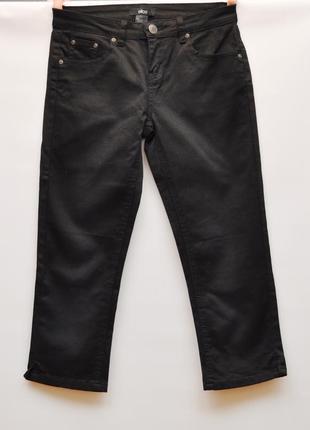Укороченные брендовые зауженные джинсы, кроп, состояние идеал, новых!!