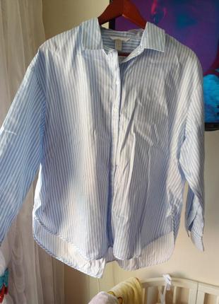 Блузка рубашка h&m