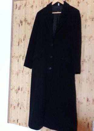 Пальто шерсть кашемир р 40
