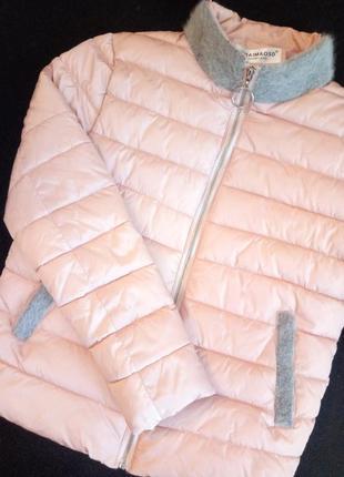 Пудровая курточка