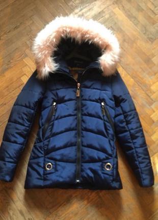 Новый пуховик куртка курточка зима
