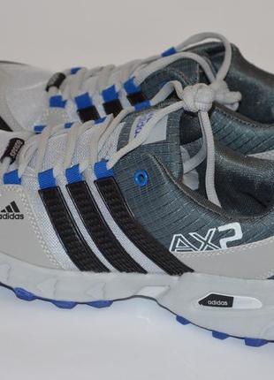 Мужские мембранные кроссовки adidas terrex ax2 осень 2018