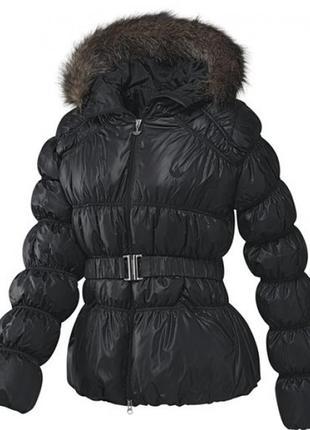 Пуховик adidas down jacket faux fur trimmed оригинал распродажа1 фото