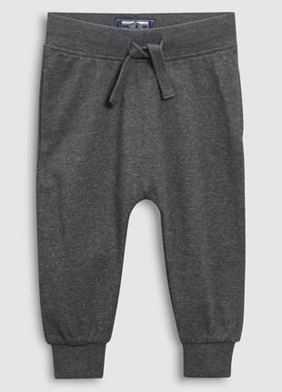 Серые спортивные штаны next для мальчика на 5-6 лет
