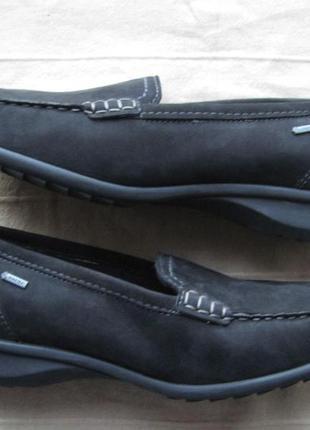 Ara (41,5) кожаные мокасины мембранные женские