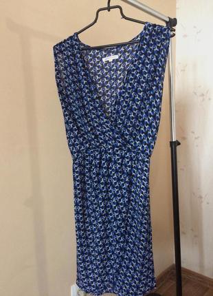 Синее платье glamorous