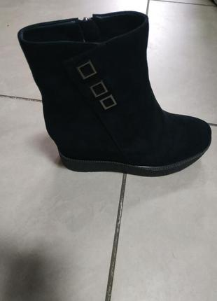 Зимние зима ботинки