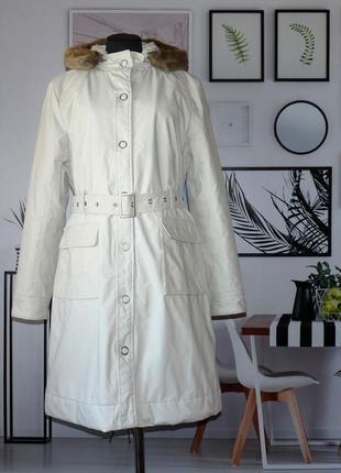Пальто коттоновое демисезонное