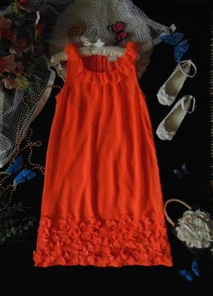 11лет.изысканное нарядное шифоновое платье next .мега выбор обуви и одежды