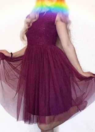Невероятное платье от next пачка юбка-пачка фатин