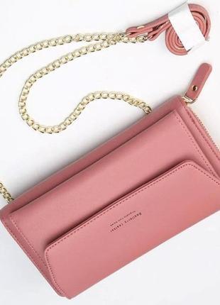Женская сумочка baellerry розовая