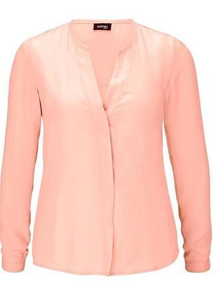 Нежная шифоновая блузка (блуза) 38 евро, наш 44 tcm tchibo
