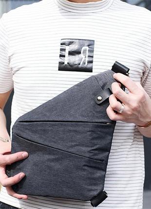 Мужская сумка cross body / сумка мессенджер fino
