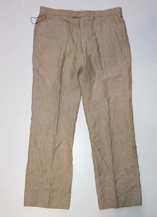 Брюки collezione marks&spencer, 100% лен, в поясе 49-50 см. новые!