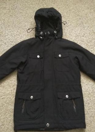 Куртка теплая евро зима mckinley размер 140 отличное состояние.