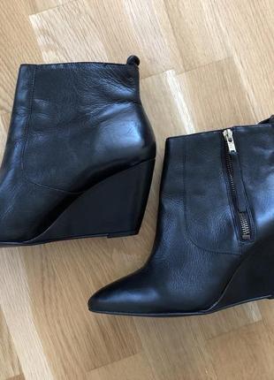 Ботинки kookai натуральная кожа