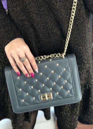 Женская сумочка из натуральной кожи италия