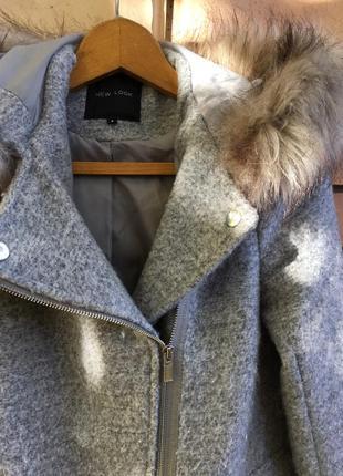 Пальто под косуху от new look