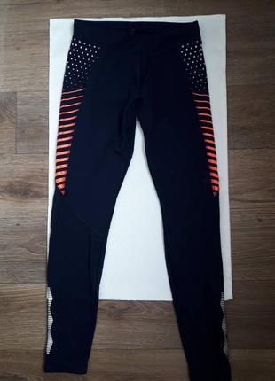 Спортивные лосины леггинсы штаны для фитнеса йоги и бега  crivit sports xs