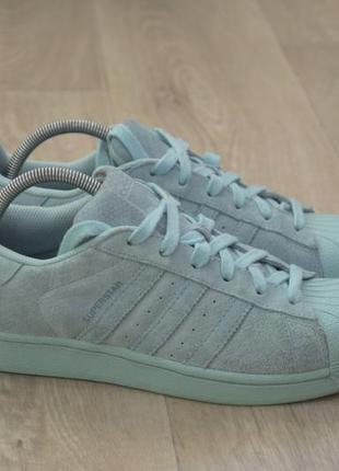 Adida superstar женские кроссовки замша оригинал осень
