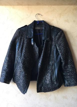 Куртка-косуха в пайетках