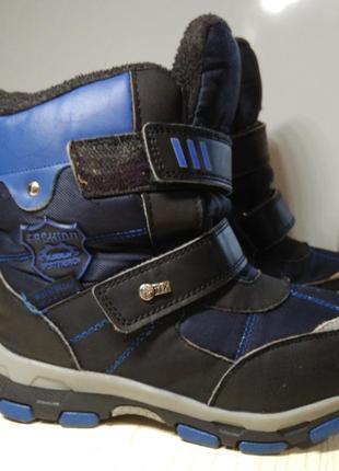 Термо ботинки сноубутсы tom m, 31 размер, стелька 19см