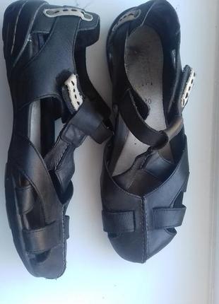 Босоножки camel active 40 р  комфортные кожаные сандалии