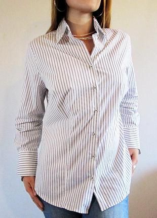 Yessica!! классическая рубашка в полоску