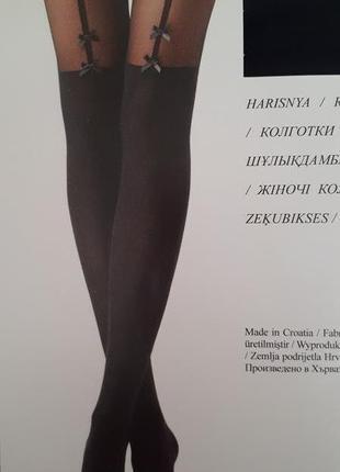 Колготки с имитацией чулок calzedonia