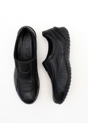 Оригінальні шкіряні класичні кросівки ecco 25.5 см