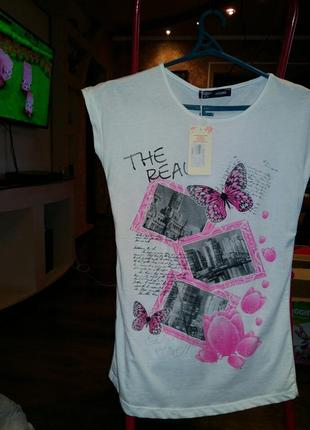 Новая футболка размер с