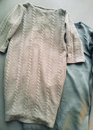 Сукня темно-коричневого кольору л-хл