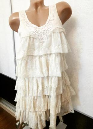 Кружевное платье rise
