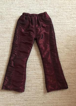 Брюки и джинсы для девочек - купить детские брюки и джинсы для ... a9d182c651155