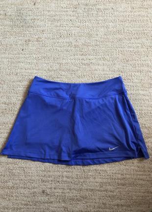 Теннисная юбка nike dri fit, тенісна спідниця- шорти