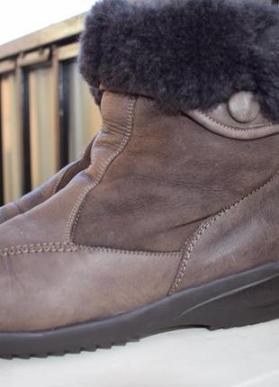 cc08b992c9aa Кожаные зимние ботинки waldlaufer германия р.5 р.38 39 25 см овчина1 ...