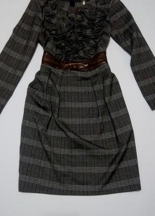 Платье футляр в клетку бюстье футляр 48 размер топ лук скидка распродажа classic tricot