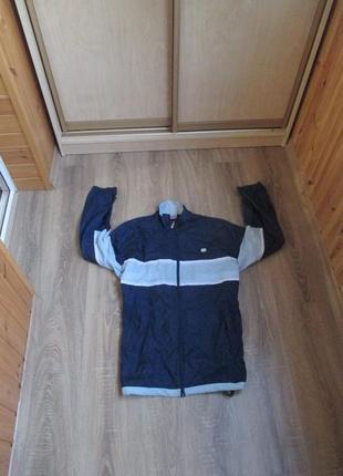 Мужская ветровка nike dry fit р.xl в идеале синяя курточка