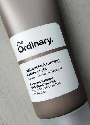 Увлажняющее средство the ordinary natural moisturizing factors + ha 100ml