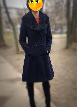 Зимнее пальто monton миди с технологичной подкладкой thinsulate