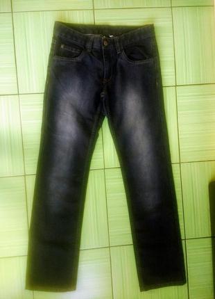 Прямые темные джинсы германия, в идеале, 164 размер