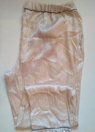 14-16 шикарные элитные атласные штанишки для дома, сна