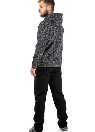 Качественный мягенький, удобный тёплый мужской спортивный костюм, р-р 46-54