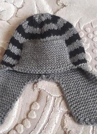 Зимняя шапка 5-8 лет,50 грн