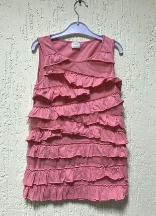 Красивое кораловое платье
