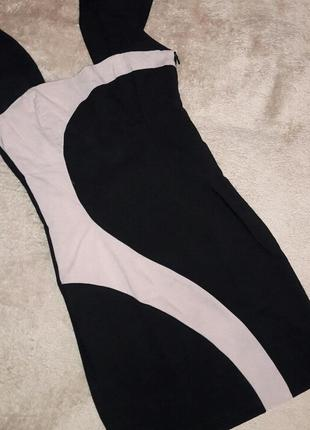 Черное мини платье,платье с коротким рукавом