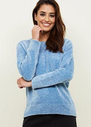 Обалденный велюровый свитер primark