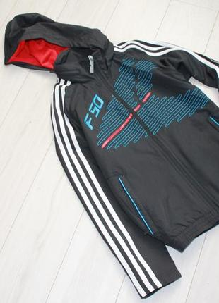 Ветровка олимпийка на 9-10 лет adidas оригинал
